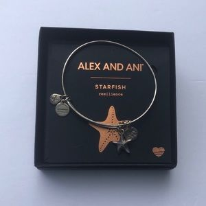 Alex and Ani Starfish Bangle